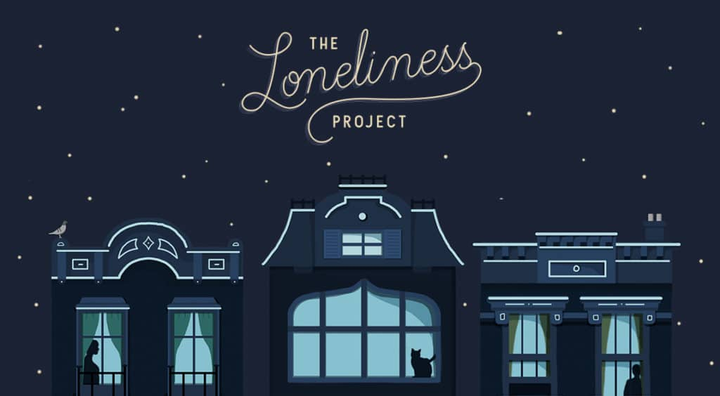 the loneliness project on DatingPerfect